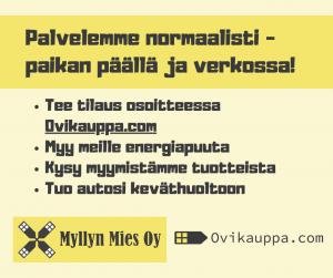 Myllyn Mies Oy - Palvelemme normaalisti