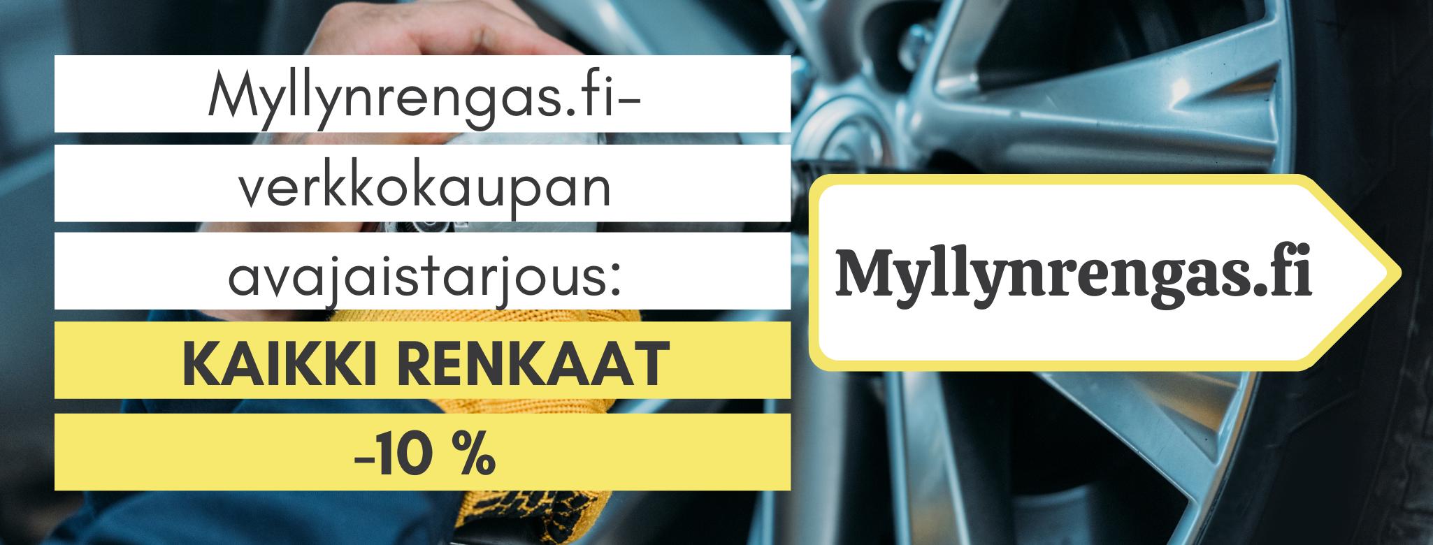 Myllynrengas.fi avajaistarjous - Myllyn Mies Oy